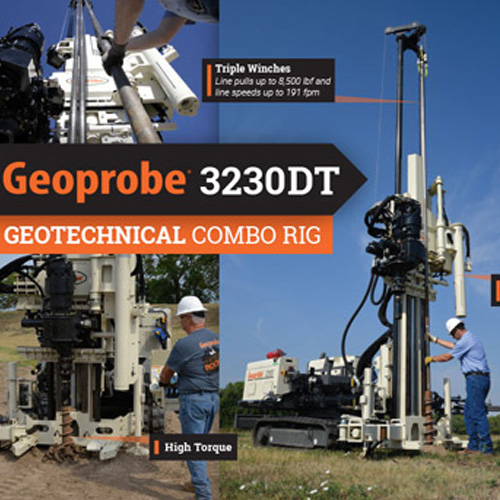 GeoProbe 3230DT Geotechnical Combo Rig