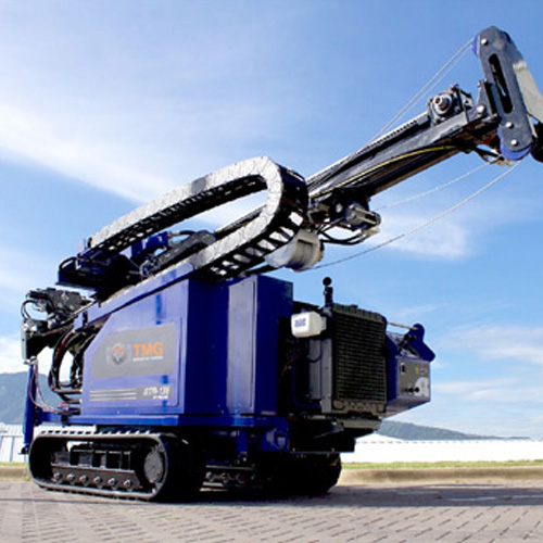 TMG 138 SPT and Wireline Rotary Core Test Drill Rig