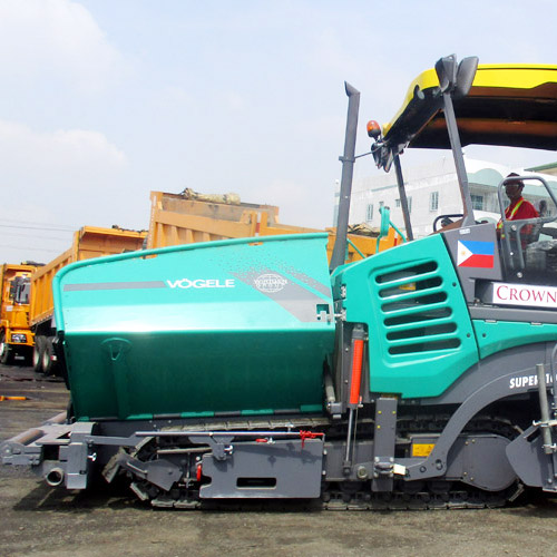 Asphalt Paver Equipment