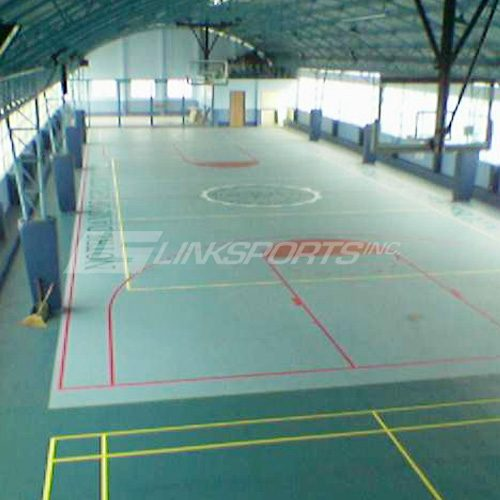 Rubber Basketball Court Floor
